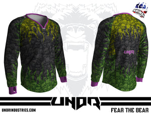 Fire Skulls Semi Custom Jersey