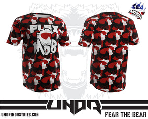 Flex Mob Red Tech Shirt