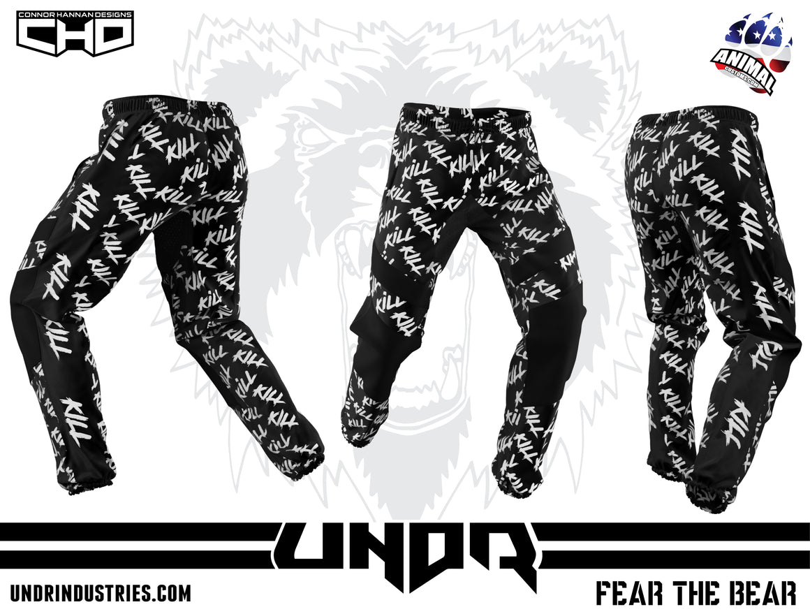 UNDR Summer Jogger Pants -  Black Kill Kill Kill