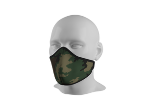 Anti-Dust Face Mask - M81 Woodland