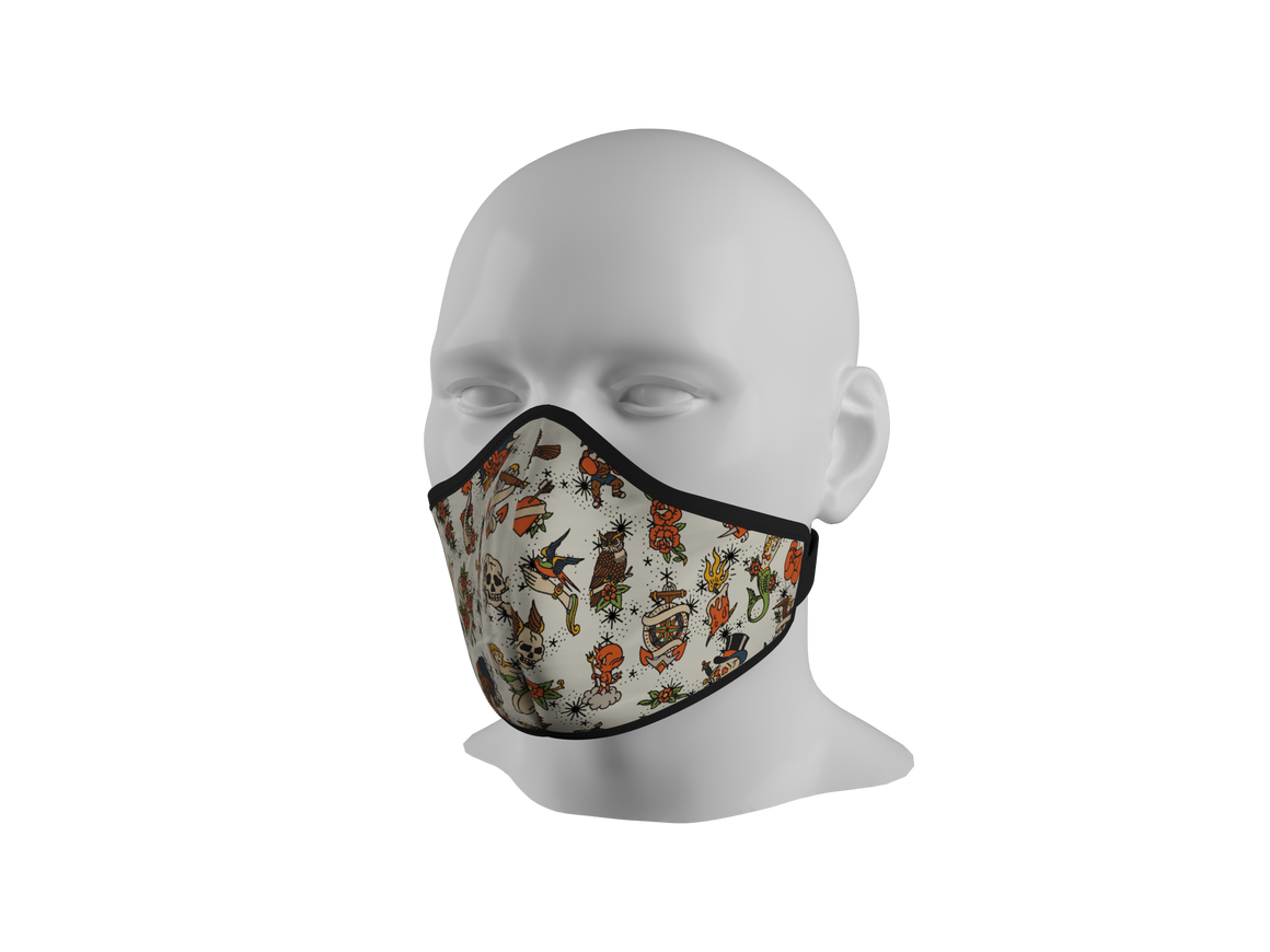 Anti-Dust Face Mask - Sailor Jerry