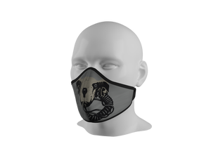 Anti-Dust Face Mask - Fighter Pilot