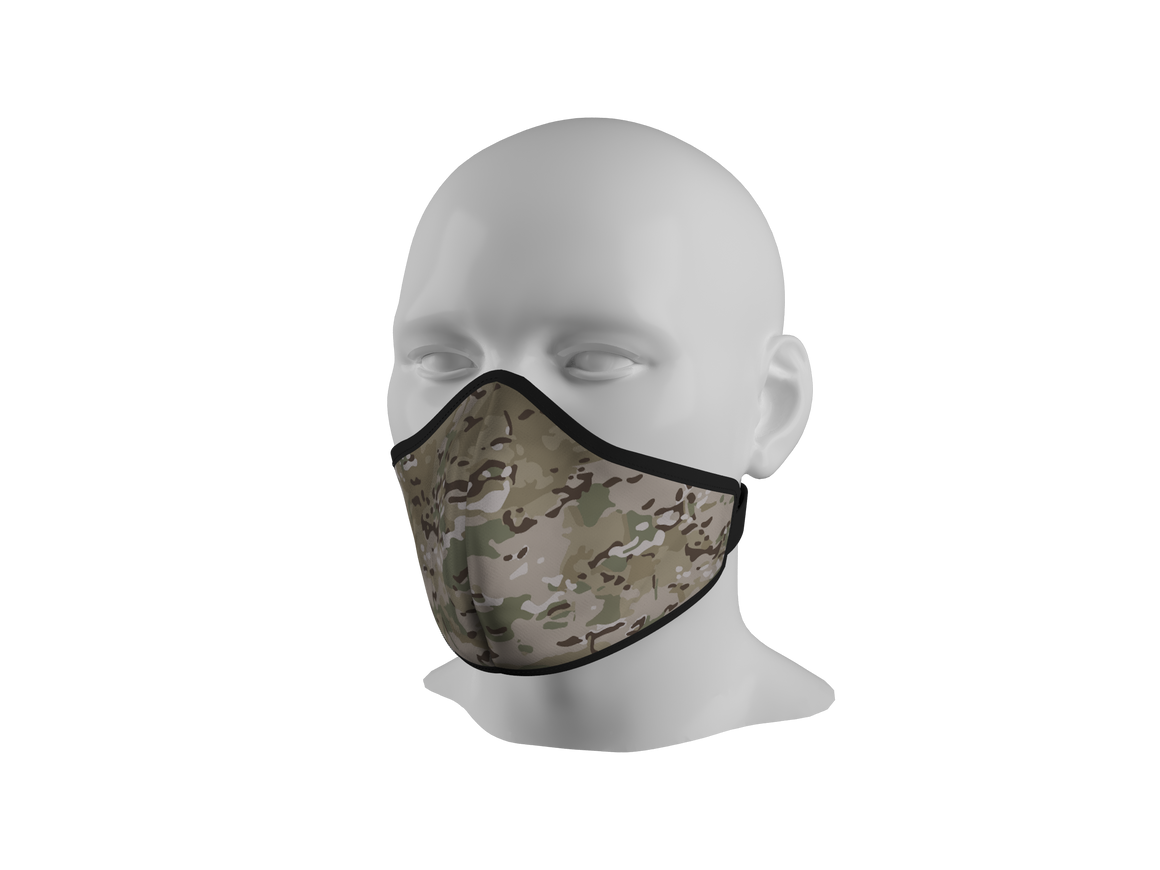 Anti-Dust Face Mask - Multicam