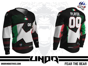Nations Cup Italy Semi Custom Jersey