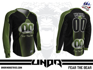 00 Degrees Green Semi Custom Jersey