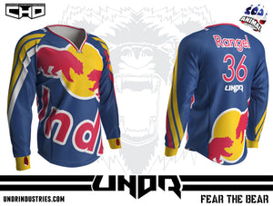Red Bear Semi Custom Jersey