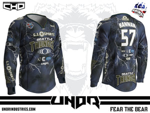 2018 Seattle Thunder NXL Atlantic City Away Jersey