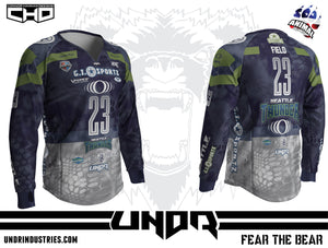 2018 Seattle Thunder NXL World Cup Away Jersey