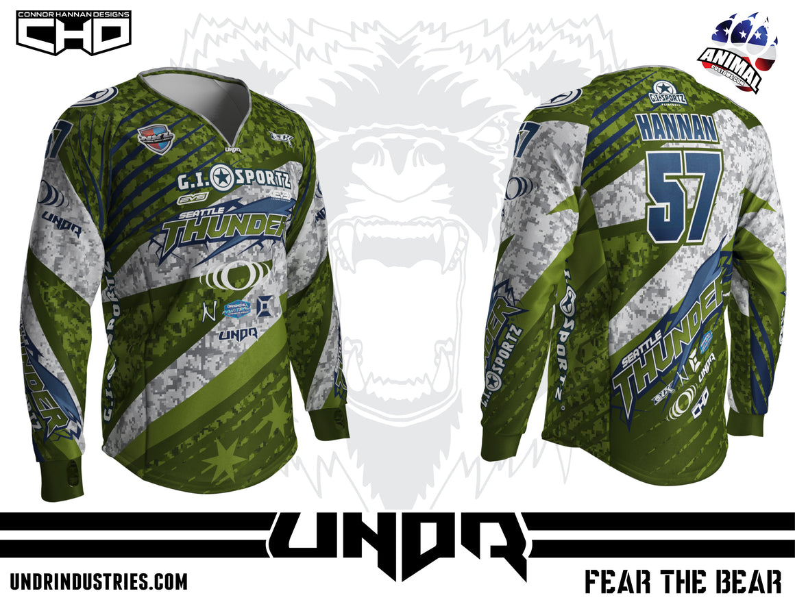 2018 Seattle Thunder NXL Chicago Home Jersey