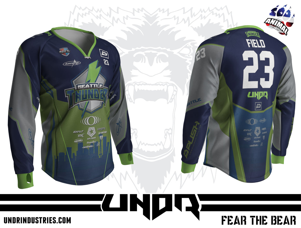 2019 Seattle Thunder NXL Dallas Away Jersey