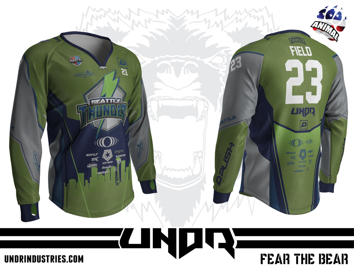 2019 Seattle Thunder NXL Dallas Home Jersey