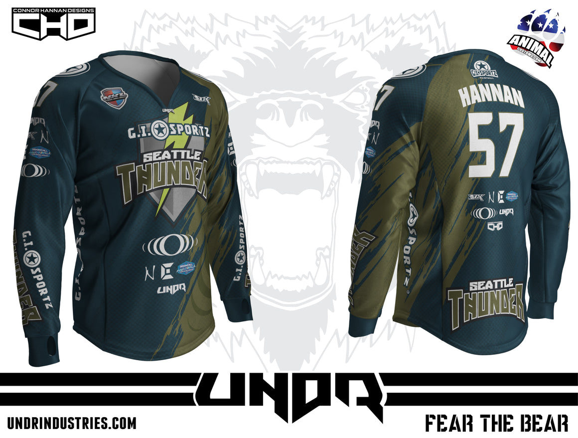 2018 Seattle Thunder NXL Dallas Away Jersey