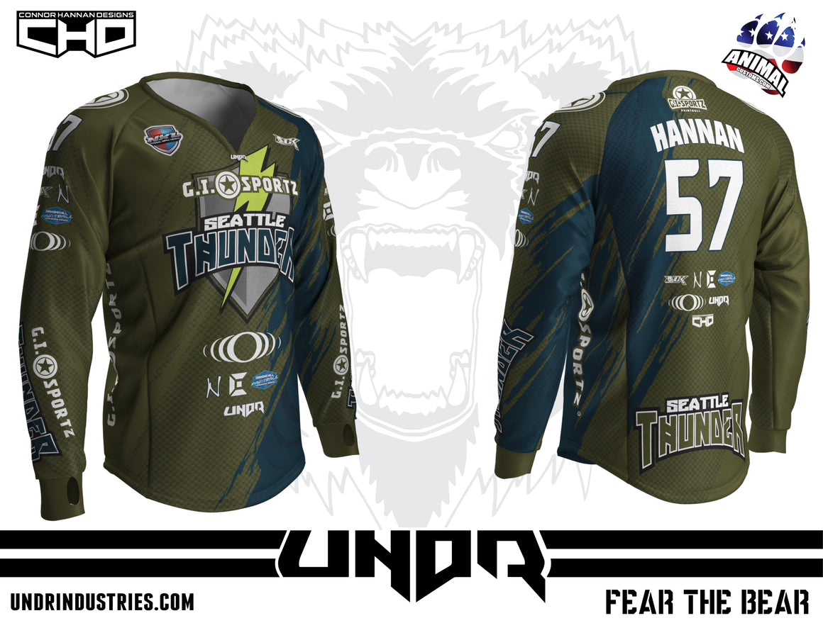 2018 Seattle Thunder NXL Dallas Home Jersey