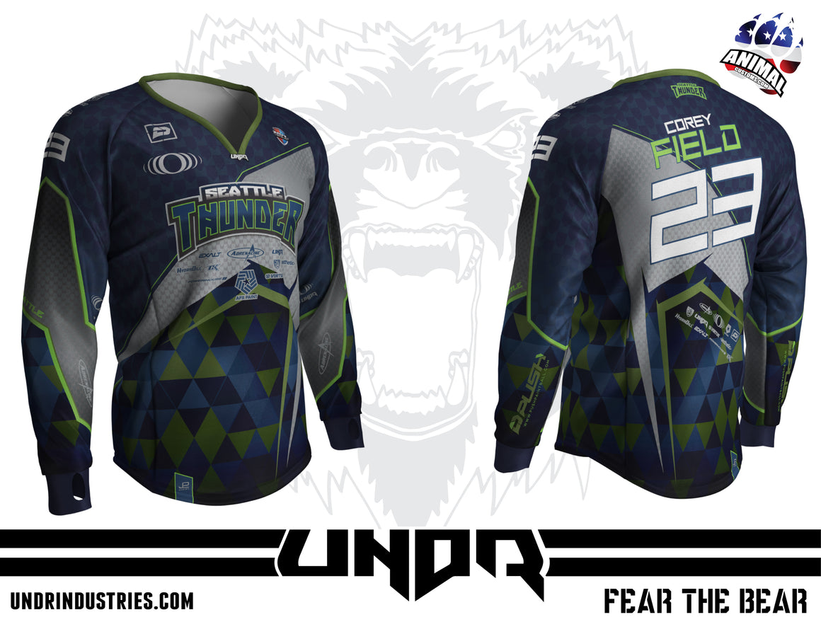2019 Seattle Thunder NXL Philly Away Jersey
