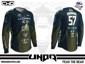 2018 Seattle Thunder NXL Vegas Away Jersey