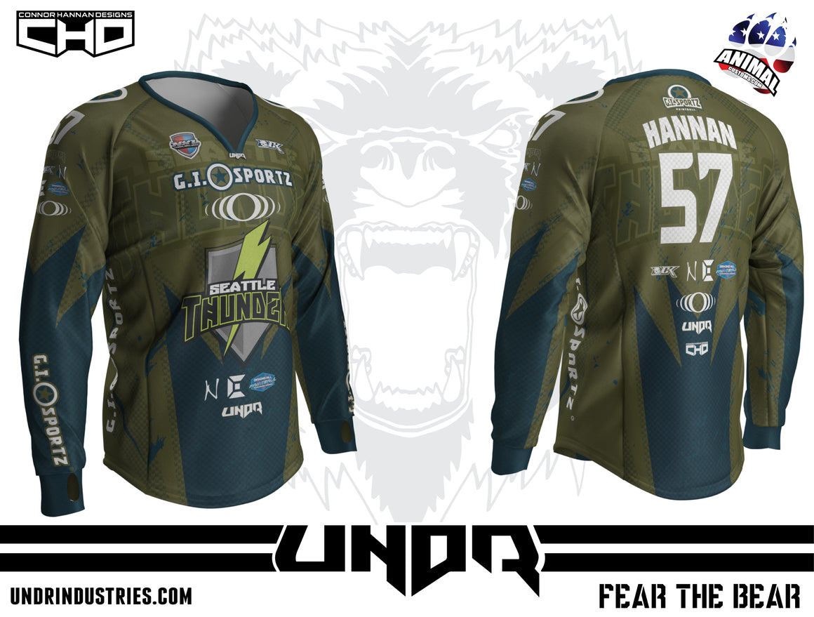 2018 Seattle Thunder NXL Vegas Home Jersey