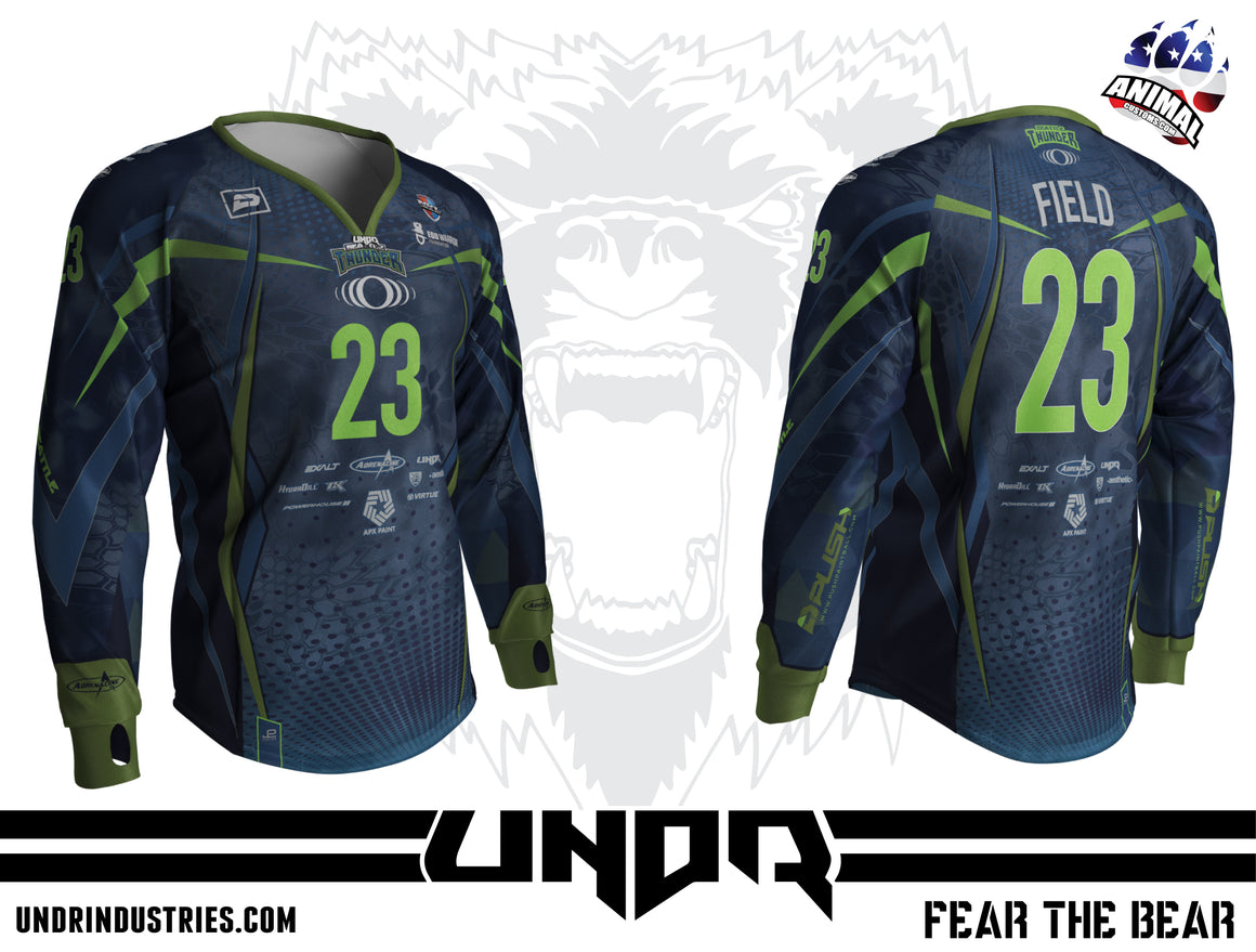 2019 Seattle Thunder NXL World Cup Away Jersey