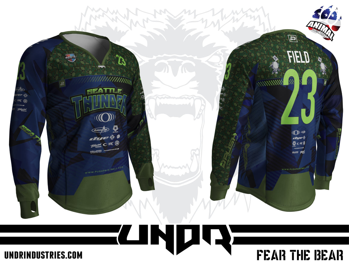 2020 Seattle Thunder NXL World Cup Away Jersey
