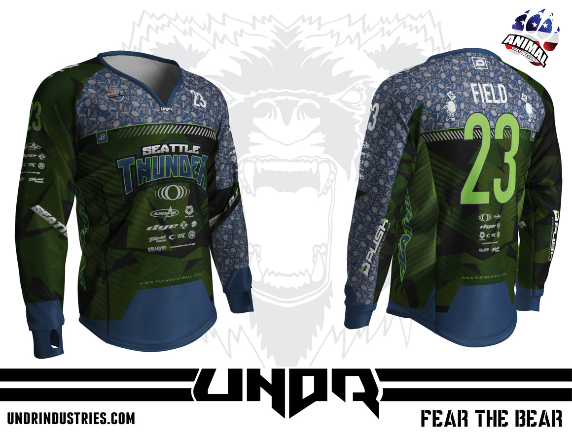 2020 Seattle Thunder NXL World Cup Home Jersey