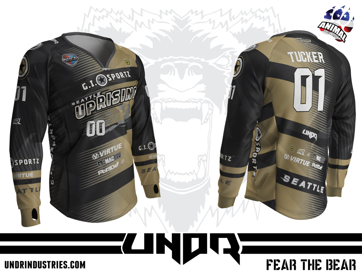 2019 SEATTLE UPRISING NXL DALLAS AWAY JERSEY