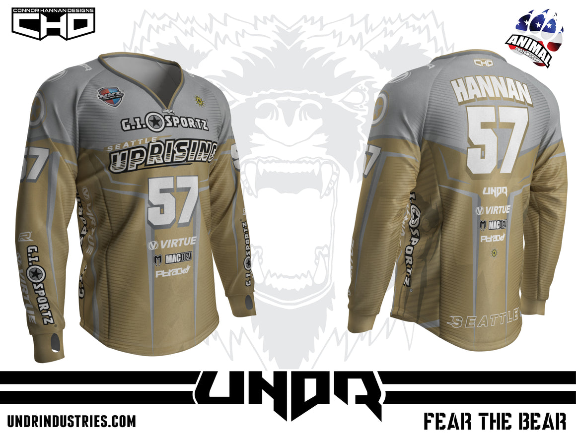2019 SEATTLE UPRISING NXL VEGAS AWAY JERSEY