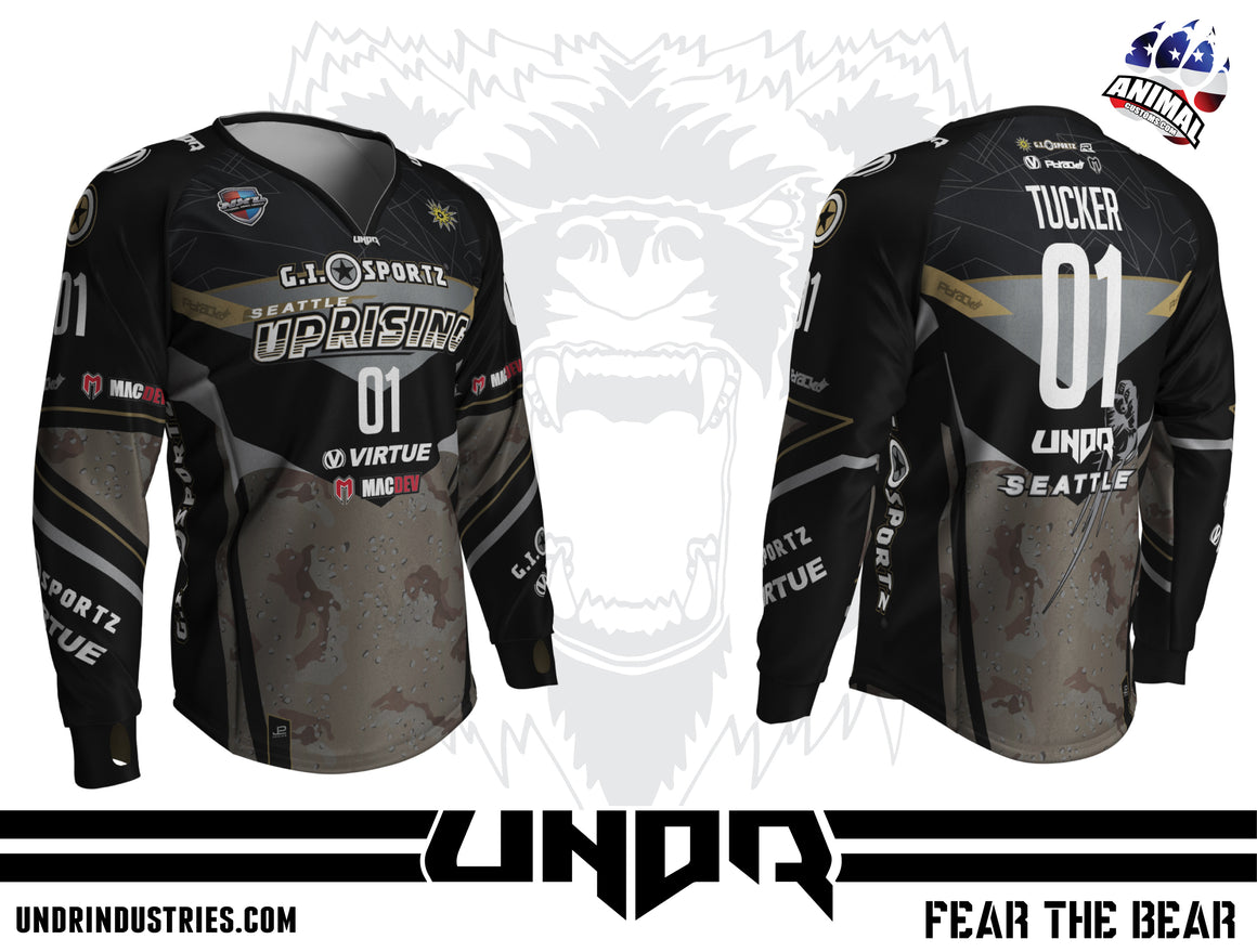 2019 SEATTLE UPRISING NXL WORLD CUP AWAY JERSEY