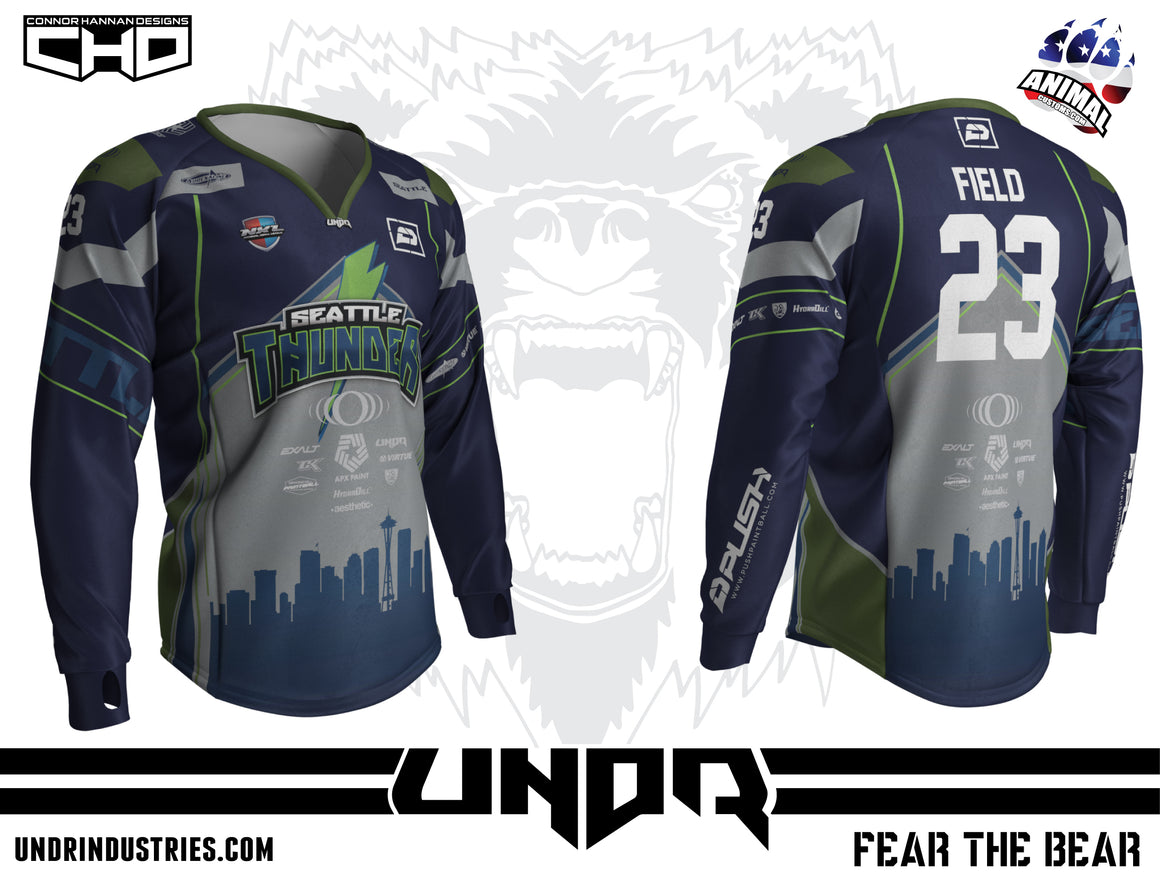 2019 Seattle Thunder NXL Vegas Away Jersey