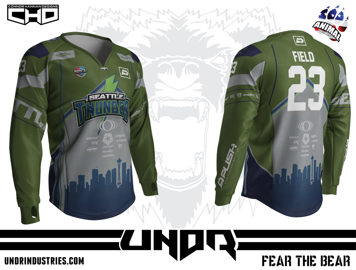 2019 Seattle Thunder NXL Vegas Home Jersey