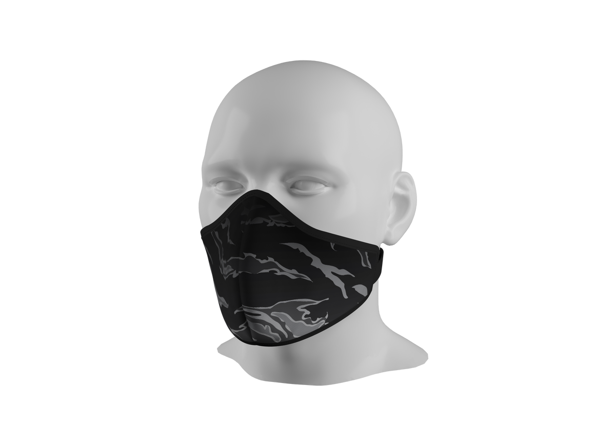 Anti-Dust Face Mask - Shadow Tiger