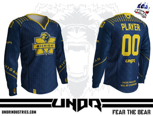 University of Michigan Custom Jersey