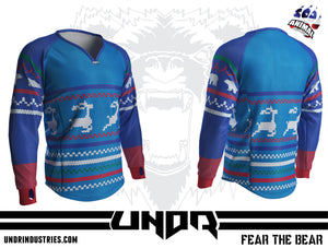 Ugly Sweater 4 Semi Custom Jersey