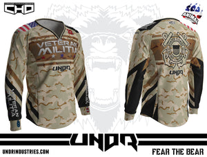 Veteran Militia - 2016 Coast Guard Jersey