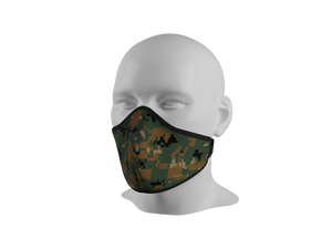 Anti-Dust Face Mask - Green MARPAT.