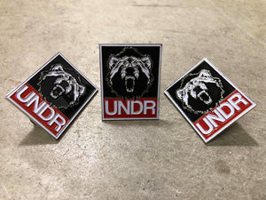 UNDR Banner Trading Pin