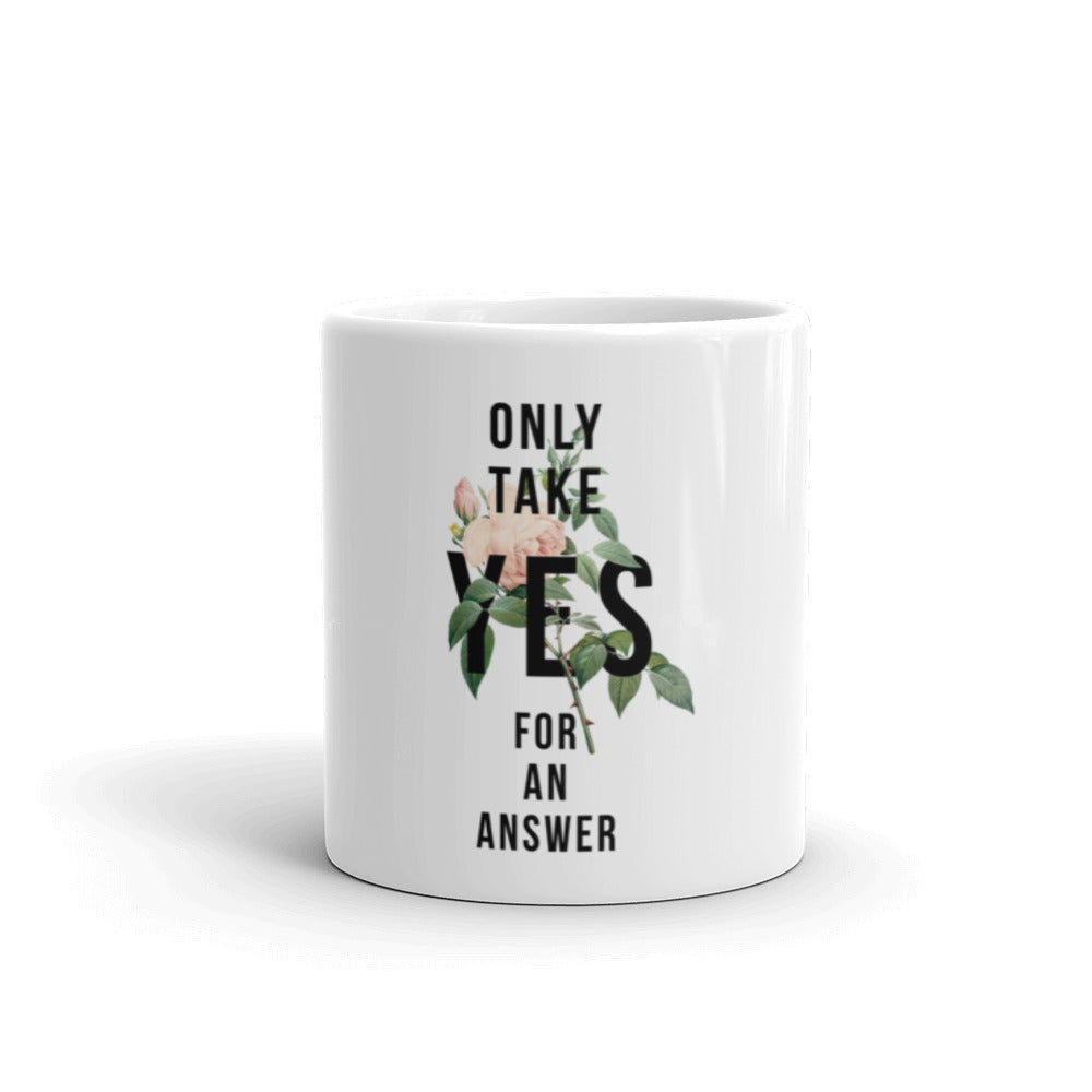 Only Take YES For An Answer Mug