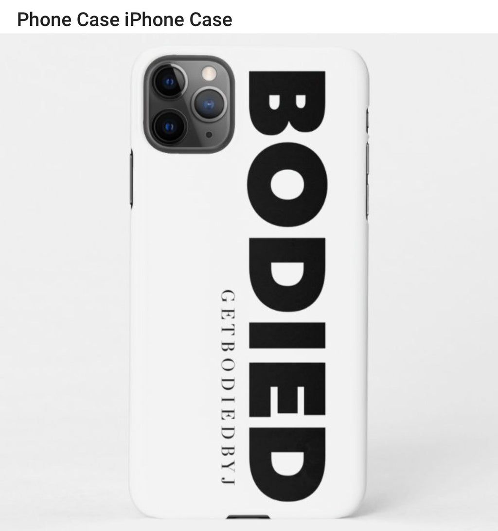 BODIED IPHONE CASE