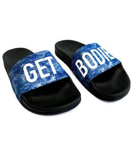 BODIED DENIM SLIDES