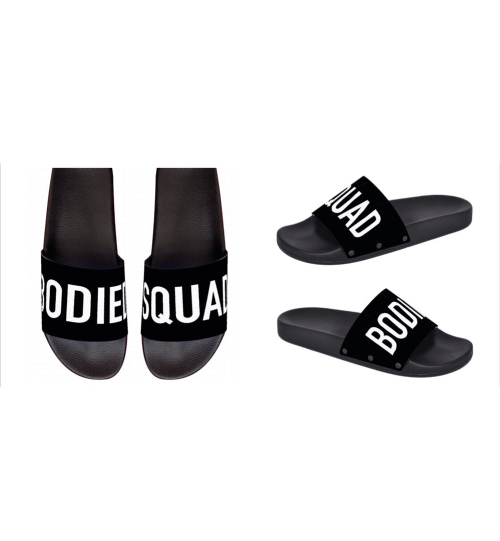 Unisex Bodied Squad Slides 2 colors
