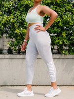 Sara Ribbed Waist Leggings Multiple Colors