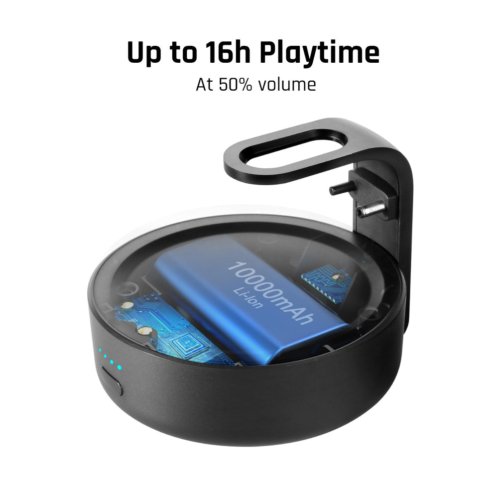 D3+Portable Battery Base for Echo Dot 3rd Gen (Echo Dot not included)