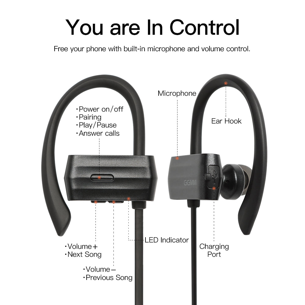 W600 Bluetooth Headphone