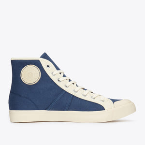 1892 National Treasure Contrast High Top - Navy / Ecru