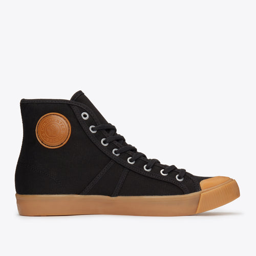 1892 National Treasure High Top - Black / Gum