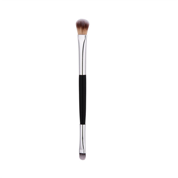 1 PCS Premium Eye Shadow Brush Powder Brush Mask Brush Makeup Brush with Silver Tube