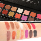 Fashion 14 Colors Eyeshadow Palette Luxury Golden Matte Nude Eye Shadow Palettes