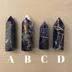 Sodalite Crystal Points (Small)