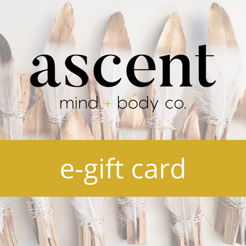 Ascent Mind+Body Co. Gift Card