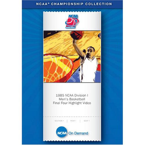 1985 Georgetown NCAA Division I Men's Basketball Final Four Highlight Video DVD