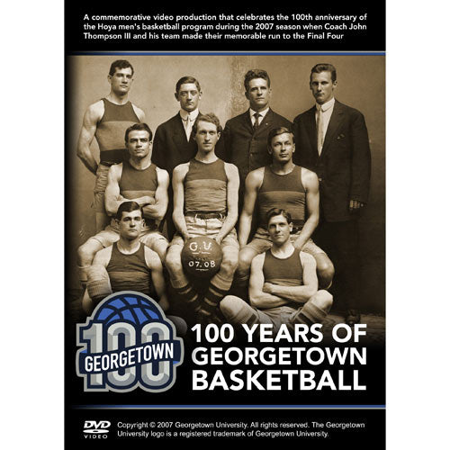 100 Years of Georgetown Basketball DVD