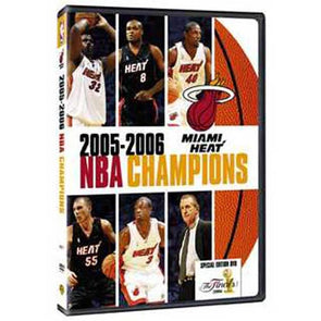 2006 Miami Heat NBA Championship DVD